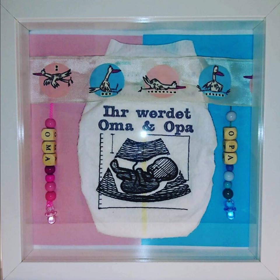 Du wirst OMA oder OPA als Windelbild