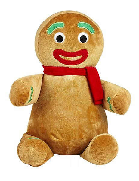 Stofftier - Gingerbread Man Teddy Bear - Dein personalisierter Lebkuchenmann